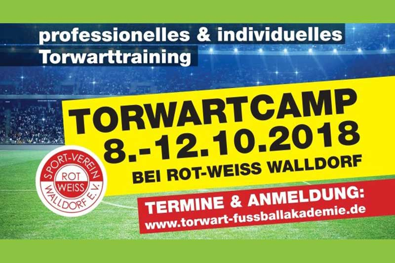 Torwart-Camp, Rot-Weiß Walldorf, Oktober 2017